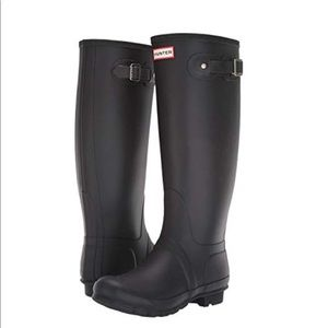 Hunter Original Tall Rain Boots (matte finish)